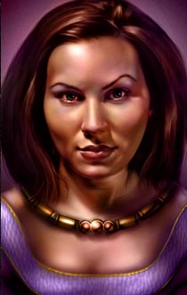 Imoen (in Baldur's Gate I)